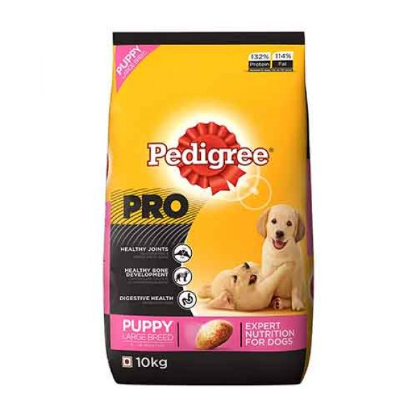 Pedigree PRO Expert Nutrition Large Breed Puppy (3-18 Months) Dry Dog Food 10kg