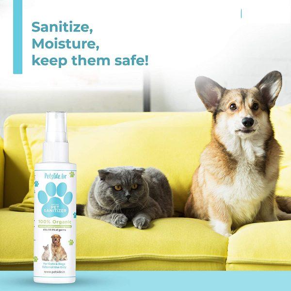 Petside Instant Pets Sanitizer