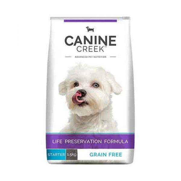 canine creek starter 1.5kg